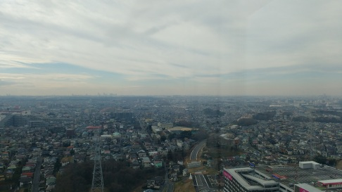 View from Kenjo's building
