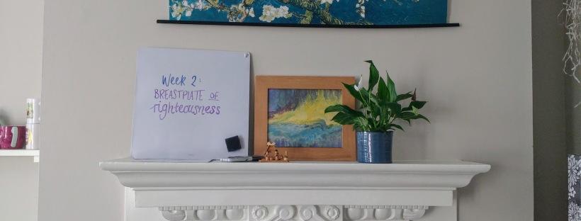 (Week 2) Breastplate of Righteousness – thejoyofrachel
